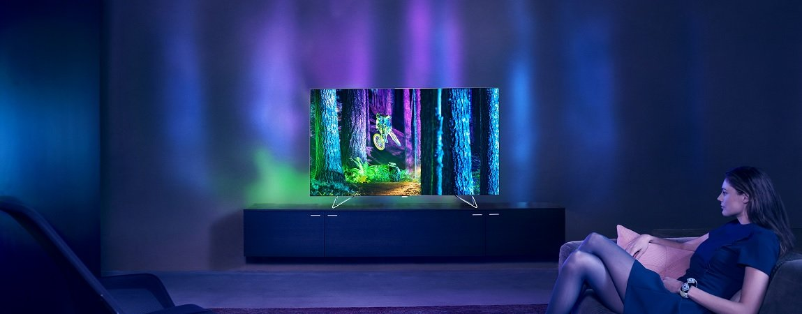 Philips Smart Televizorius su  Android operacine sistema